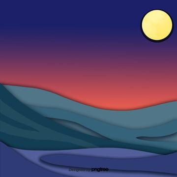 Cartoon gradiente de cores Cartoon A Cena Imagem Do Plano De Fundo