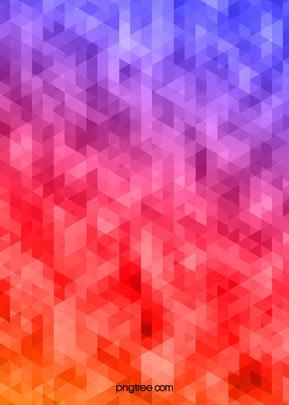 그라데이션 블루 삼각형 기하학 픽셀 배경 , 삼각형, 삼각형, 픽셀 배경 이미지
