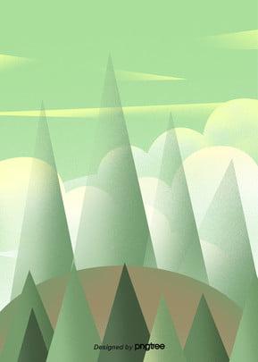 พืชสีเขียวท้องฟ้าเมฆ เมฆ ในช่วงฤดูร้อน ท้องฟ้า รูปภาพพื้นหลัง