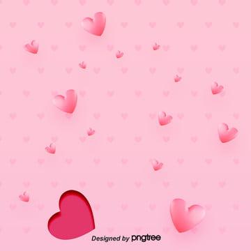 गुलाबी वेलेंटाइन  s दिन दिल के आकार का पृष्ठभूमि , Decoupage, शादी, दिल के आकार का पृष्ठभूमि छवि