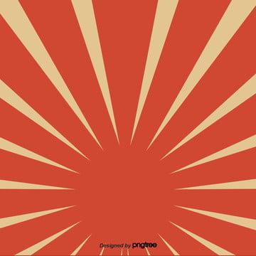 कार्टून लाल विकिरण के तत्वों के साथ प्रकाश , तत्वों, प्रकाश, सूर्य पृष्ठभूमि छवि