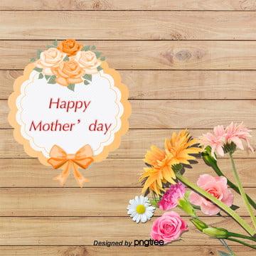 母親節木板花朵背景 , 木板, 母親節, 背景 背景圖片