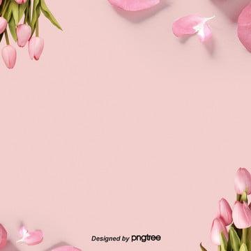 발렌타인데이 핑크 꽃봉오리 , 꽃봉오리가 피기를 기다리다, 발렌타인 데이, 낭만적이다 배경 이미지