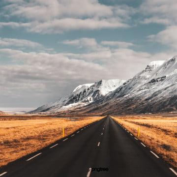 xa lộ cảnh tuyết sơn cao nguyên , Nguyên Tố, Đường Cao Tốc, Cảnh Ảnh nền