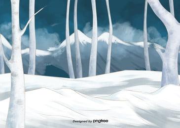 cây rừng núi tuyết mùa đông, Mùa Đông, Mùa đông Giá Rét, Đỉnh Núi Ảnh nền
