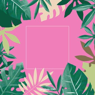 夏日棕櫚葉背景 , 夏日, 棕櫚葉, 海灘風情 背景圖片