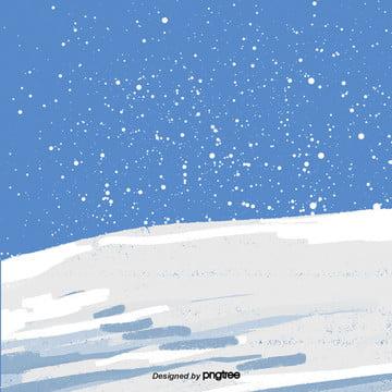 कार्टून चल हिमपात का एक खंड  सफेद ढाल दृश्य , बर्फ, सर्दियों, कार्टून पृष्ठभूमि छवि