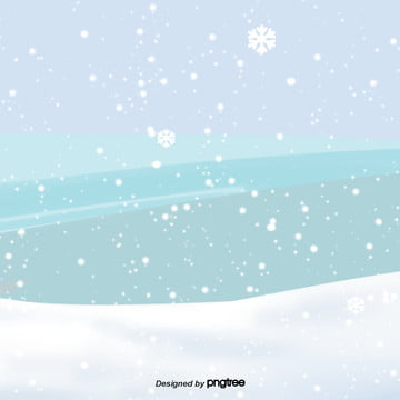 winter snow background of cartoon snow , Snowing, Winter, Cold Background image