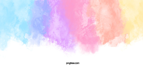 Colorful Watercolor Rainbow Background, Color, Rainbow, Watercolor, Background image