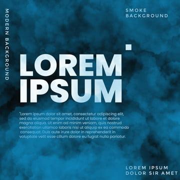 編集可能なテキストと青煙の背景 , 背景, 旗, クラウド効果 背景画像