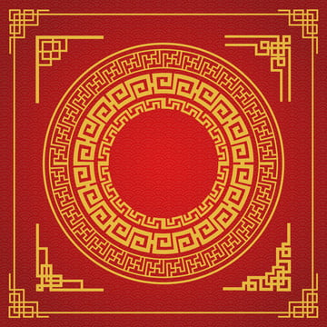 chinese frame style on red background , Abstract, Antique, Art Background image