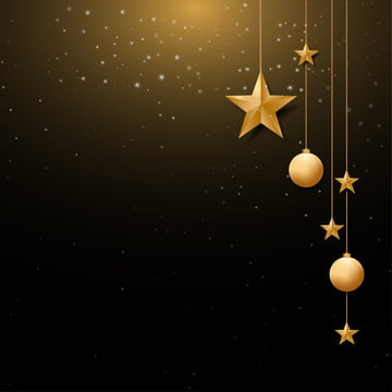 christmas background with gold christmas ball and star  and space for text  vector illustration , Christmas, Background, Xmas Background image