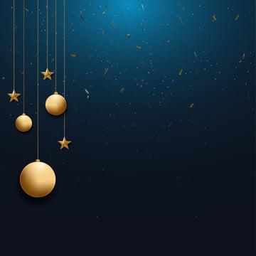 क्रिसमस पृष्ठभूमि के साथ सोने क्रिसमस गेंद और स्टार और अंतरिक्ष के लिए पाठ वेक्टर चित्रण , दो हजार उन्नीस, दो हजार बीस, सार पृष्ठभूमि छवि