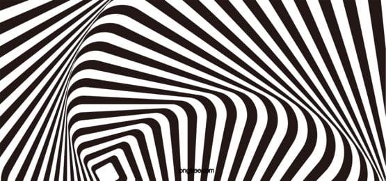 hình ảnh 3 chiều nền đen trắng, Hình Học, Trừu Tượng., Ngựa Vằn Sọc Ảnh nền