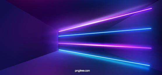fundo abstrato de luz de néon 3d, Abstract, Fundo Abstrato, Fundo Imagem de fundo