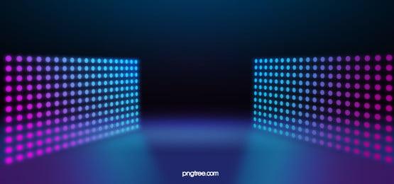 三維霓虹燈抽象背景, 摘要, 抽象背景, 背景 背景圖片