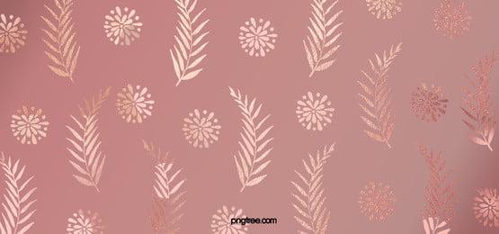 淡雅バラ金花卉植物装飾の背景 優雅である 葉の葉 商業 背景画像
