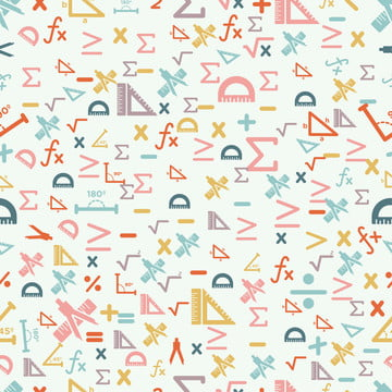 गणित के सहज कपड़े पैटर्न सेट , Batik, नीले, डिजाइन पृष्ठभूमि छवि