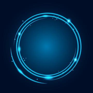 linhas tecnológicas luminosas de neon , 3d, Abstract, Arte Imagem de fundo