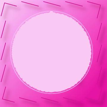 円形のフレームとピンクの背景 , 背景, 色, 幾何学模様 背景画像
