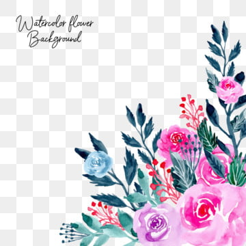 pink watercolor flower background , Flower, Flowers, Floral Background image