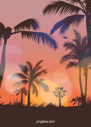 로맨틱 여름 시대 배경 , 배경, 백사장 파티 배경, 축하 배경 이미지