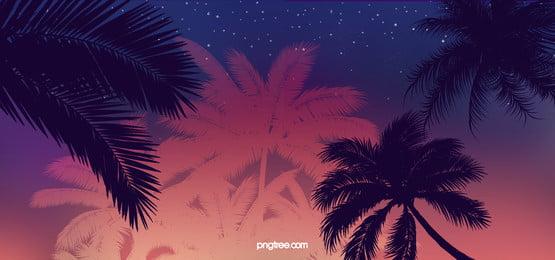 ロマンチックな夏の時間の背景, 背景, ビーチパーティーの背景, 祝い 背景画像