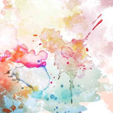 飛濺的水彩背景 , 背景, 繪畫, 梯度 背景圖片