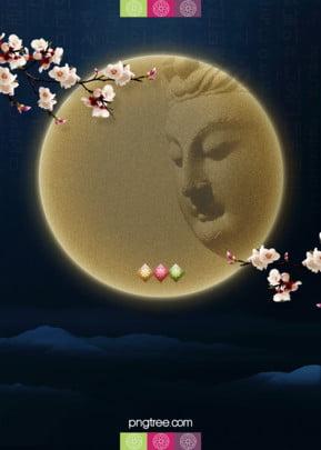 सुंदर और आकर्षक  सरल शैली के बुद्ध के जन्मदिन का त्योहार पृष्ठभूमि डिजाइन , बौद्ध धर्म, बुद्ध के जन्मदिन का त्योहार, विंटेज पृष्ठभूमि छवि