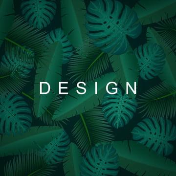 उष्णकटिबंधीय पृष्ठभूमि के साथ जंगल के पौधों विदेशी पैटर्न के साथ हथेली , कला, पृष्ठभूमि, काले पृष्ठभूमि छवि
