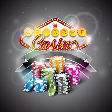 vector illustration on a casino theme with color playing chips and lighting display , Leisure, Illustration, Game Background image