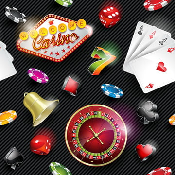 vector seamless casino pattern illustration with gambling elemen , Leisure, Illustration, Luck Background image