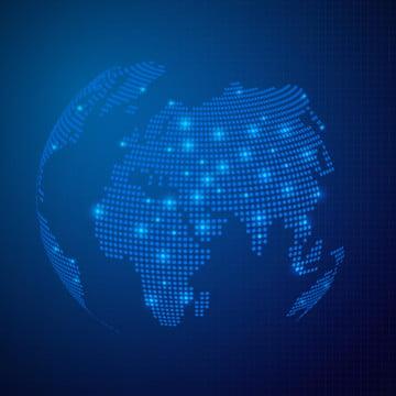 दुनिया के नक्शे के साथ परिपत्र कणों प्रौद्योगिकी सार पृष्ठभूमि , सार, पृष्ठभूमि, रिक्त पृष्ठभूमि छवि
