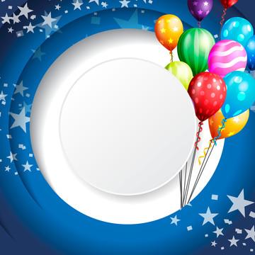 papel de parede de balão fundo comemorativo de aniversário , Abstract, Aniversário, Fundo Imagem de fundo