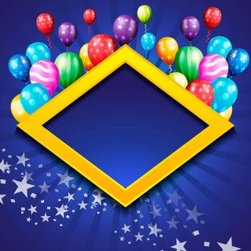 globo de cumpleaños wallpaper celebración de cumpleaños de fondo , Resumen, Aniversario, Antecedentes Imagen de fondo