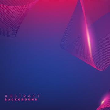 優雅的紫色創意波浪線標題範本背景 , 摘要, 藝術, 背景 背景圖片