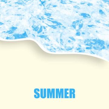 夏季海灘橫幅 , 背景, 顏色, 彩色飛濺 背景圖片