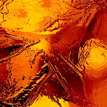 सार सोने के तरल हाथ से बने बनावट , सार, एक्रिलिक, कला पृष्ठभूमि छवि