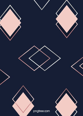 심플한 로즈 골드 마름 기하학 도형 중합 창의적 배경 , 기하, 기하 도형, 북유럽풍 배경 이미지