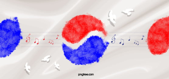 korean music taiji banner background, Peace Dove, Korean People, Loyalty Day Background image