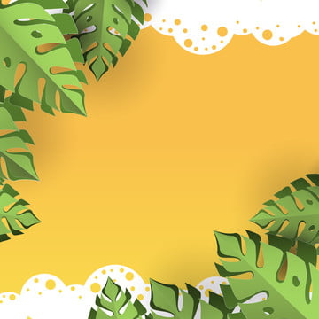 उष्णकटिबंधीय पत्ते पृष्ठभूमि , 3 डी, सार, कला पृष्ठभूमि छवि