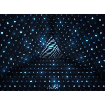 抽象三維背景與發光的金色圓點組合 , 三維, 摘要, 背景 背景圖片