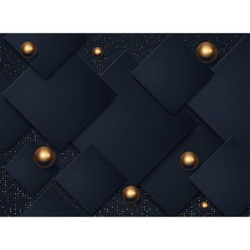 résumé les couches de papier noir 3d , 3d, Résumé, Contexte Image d'arrière-plan