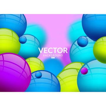 ダイナミックな3 d球と抽象的な背景 , 3 D, 抄録, アート 背景画像