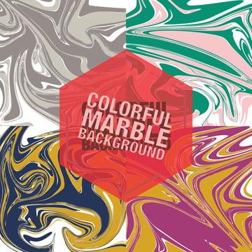 다채로운 액체 대리석 바닥 , 배경, 디자인, 원 배경 이미지