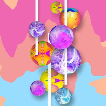 सार 3 डी उड़ान गेंदों , 3 डी, सार, पृष्ठभूमि पृष्ठभूमि छवि