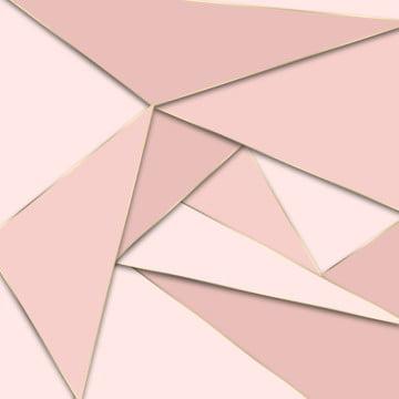 abstract mosaic papier peint en rose dor et noir , Résumé, Art Déco, Contexte Image d'arrière-plan