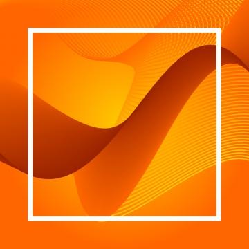 유동 오렌지 벡터 라인 , 다이제스트, 심연, 공백 배경 이미지