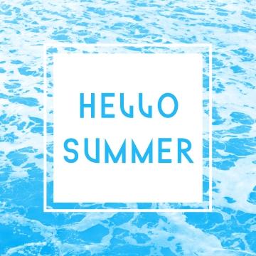 你好夏天 , 顏色, 彩色飛濺, 你好 背景圖片