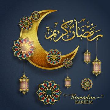 ramadan kareem greeting card with hanging lantern design translation of text ramadan kareem , Abstract, Advertising, Anniversary Background image